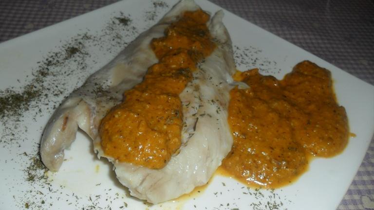 Pesce Con Salsa Dautunno A Base Di Zucca Funghi Nocciole E Yogurt