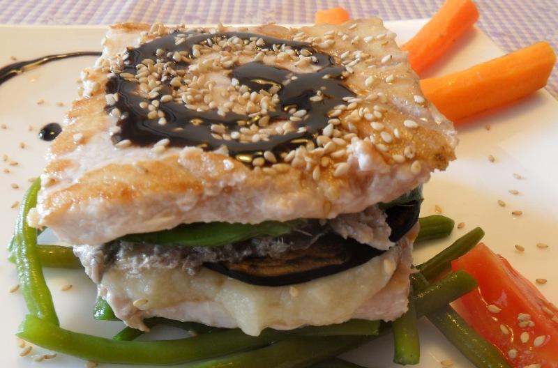 Ricette veloci vigilia di natale parmigiana di pesce con for Ricette veloci pesce