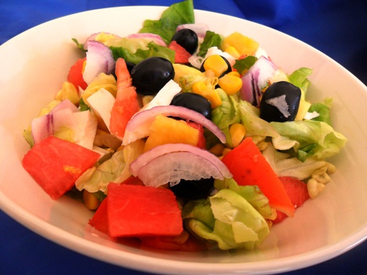 Insalata di frutta e verdura - La cucina di Verdiana