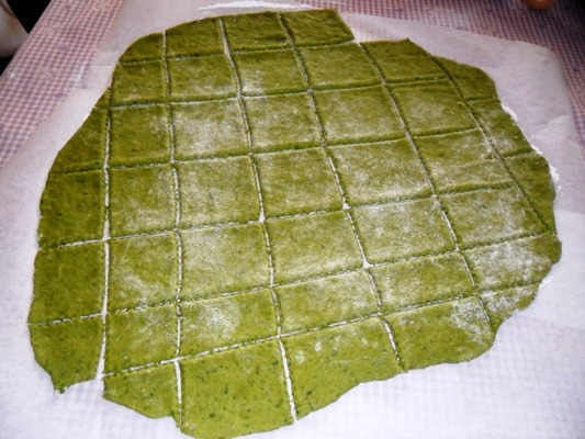 Cracker fatti in casa al basilico la cucina di verdiana for Case di cracker di florida