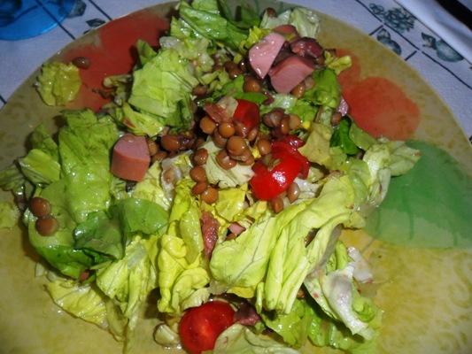Insalata con legumi - La cucina di Verdiana