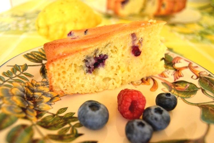 Torta soffice limone e ricotta - La cucina di Verdiana