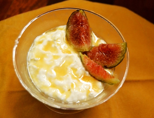 panna cotta light con yogurt