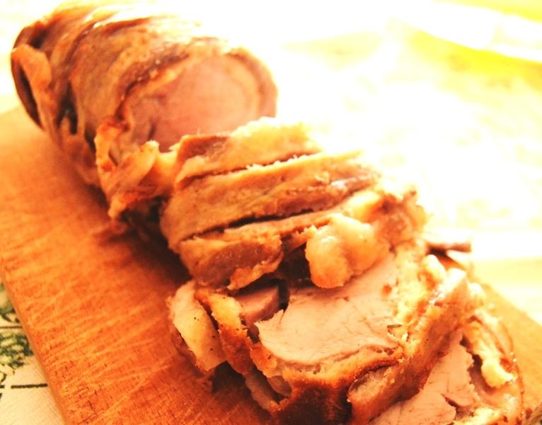 Arista di maiale in crosta di pane - La cucina di Verdiana