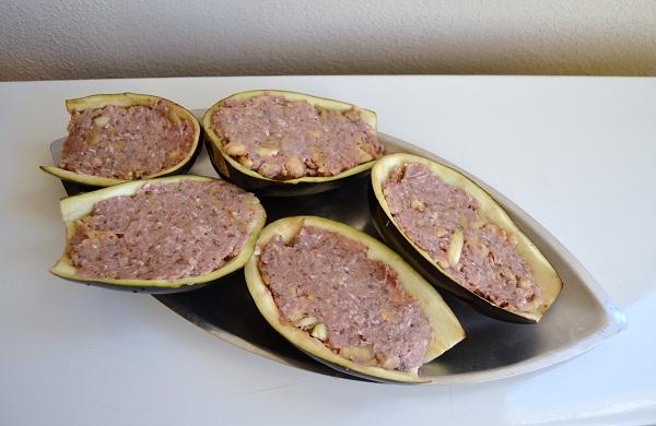 melanzane ripiene di carne al forno - la cucina di verdiana - Come Cucinare Le Melanzane Ripiene